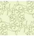 Decoration vintage element Floral style Seamless vector image
