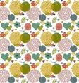 summer floral pattern vector image