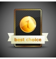 a best choice label vector image