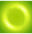 Abstract light ring vector image