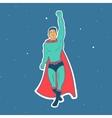Fly Hero Man vector image vector image