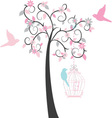 Birdcage Tree vector image