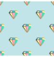Fashion pins seamless pattern vector image