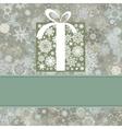 retro christmas card eps 8 vector image