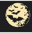 Night Bat Background vector image vector image