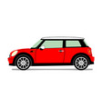 New red mini vector image