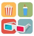 popcorn vector image