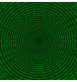 matrix circular pattern vector image