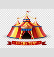 circus tent transparent background image vector image