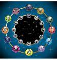 signs of zodiac vector image vector image