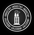 industry icon vector image