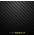 Abstract black striped background vector image