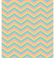 Beige and blue chevron seamless pattern background vector image