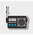 radio retro design vector image