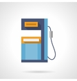 Diesel refueling flat color icon vector image