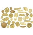 Various Breads Set vector image