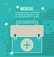 medical health care box first aid vector image