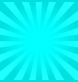 bright cyan rays background vector image