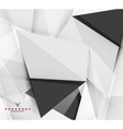 Triangular modern abstract background vector image vector image