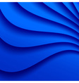 Blue Wavy Background vector image
