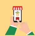 order food online vector image