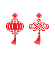 chinese symbols vector image