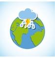 weather symbols design vector image