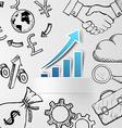 profit growth Stock vector image