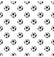 Soccer ball pattern cartoon style vector image