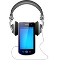 mobile and music vector image