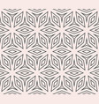 subtle seamless ornament pattern thin geometric vector image