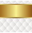 white gold background vector image vector image