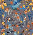 Watercolor natural seamless pattern vector image