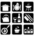 icon food vector image vector image