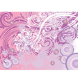 Decorative Floral Background2 vector image vector image