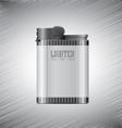 Lighter Metallic vector image