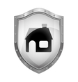 House insurance security vector image