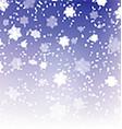 christmas snowflakes 0411 vector image vector image