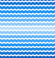 wave blue gradient background seamless pattern vector image