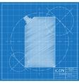 flat mayonnaise pack vector image