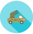 Missile Truck vector image