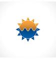 abstract sun vector image