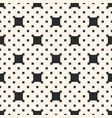 Square pattern with big and small rounded squares vector image