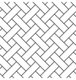 Braided stripped geometric seamless pattern vector image