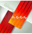 abstract line background Design template vector image