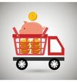 car shop buy online vector image