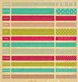 Vintage calendar for 2015 vector image