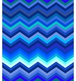 Dark turquoise and blue gradient chevron seamless vector image