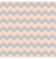 Zig zag chevron pastel pink and grey tile pattern vector image