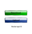buttons for web sites vector image